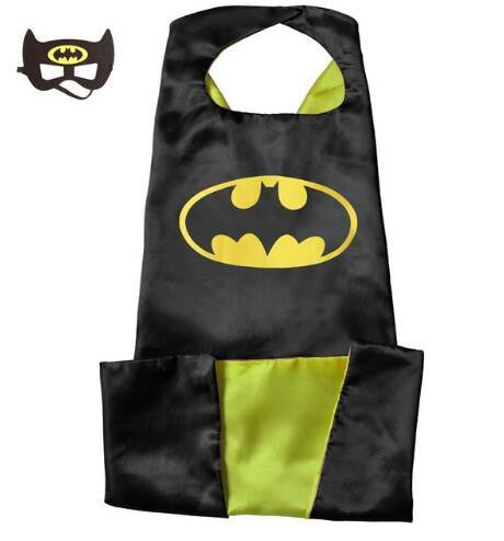 Superhero Cape and Mask Set (Bat 2) | Kwikibuy Amazon | United States | Halloween | Super Hero | Capes | Masks