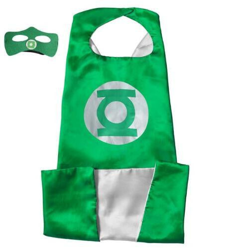 Superhero Cape and Mask Set (Green) | Kwikibuy Amazon | United States | Halloween | Super Hero | Capes | Masks