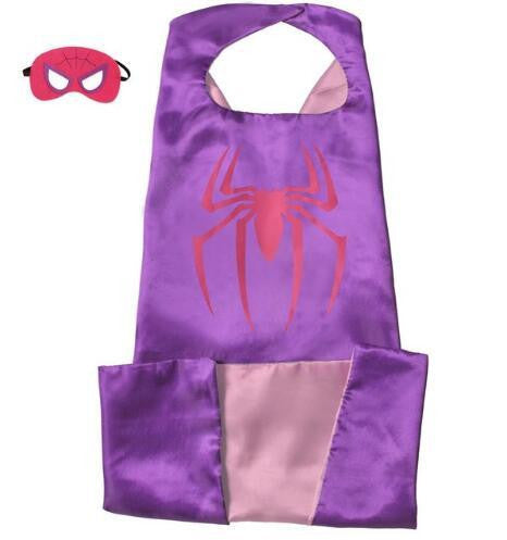 Superhero Cape and Mask Set (Spider 2) | Kwikibuy Amazon | United States | Halloween | Super Hero | Capes | Masks