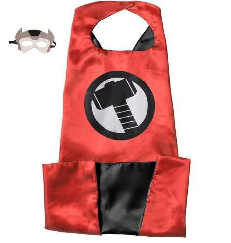 Superhero Cape and Mask Set (Thor) | Kwikibuy Amazon | United States | Halloween | Super Hero | Capes | Masks