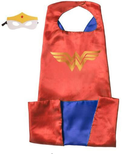 Superhero Cape and Mask Set (Wonder) | Kwikibuy Amazon | United States | Halloween | Super Hero | Capes | Masks