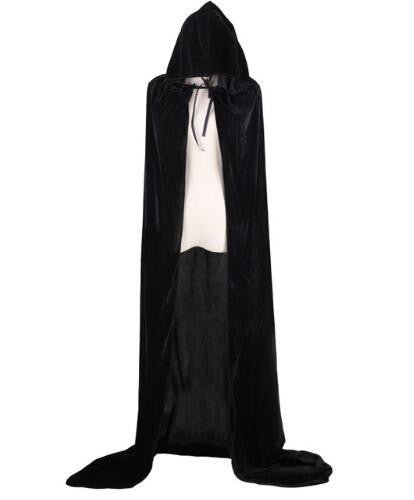 Hooded Cloak (Black) | Kwikibuy Amazon | United States | Halloween | Capes