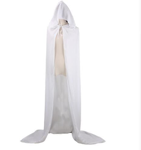 Hooded Cloak (White) | Kwikibuy Amazon | United States | Halloween | Capes