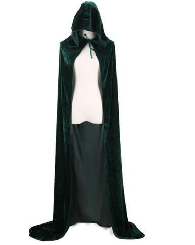 Hooded Cloak (Green) | Kwikibuy Amazon | United States | Halloween | Capes