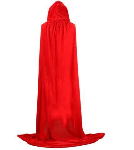 Hooded Cloak (Red) | Kwikibuy Amazon | United States | Halloween | Capes