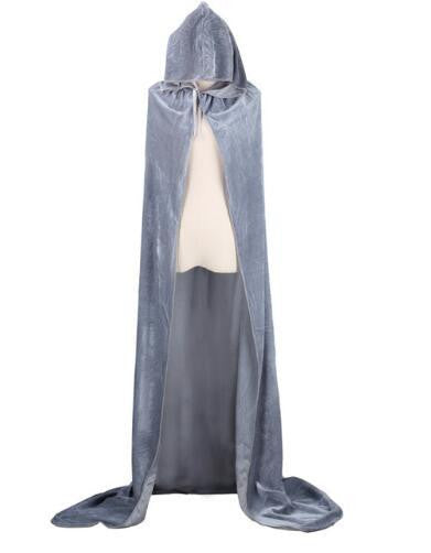 Hooded Cloak (Grey) | Kwikibuy Amazon | United States | Halloween | Capes