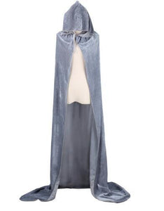 Hooded Cloak (Grey)  - Kwikibuy Amazon Global