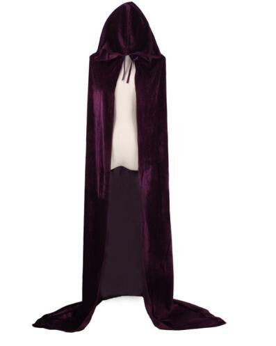 Hooded Cloak (Purple) | Kwikibuy Amazon | United States | Halloween | Capes