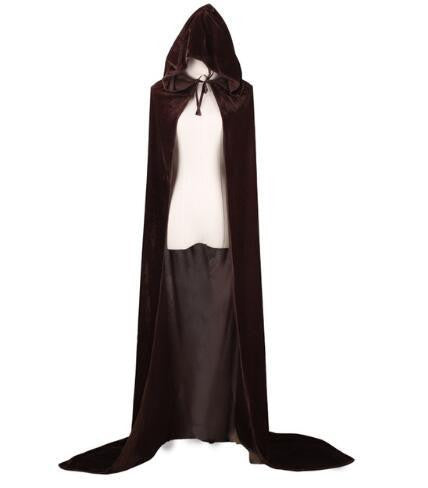 Hooded Cloak (Brown) | Kwikibuy Amazon | United States | Halloween | Capes
