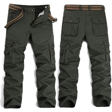 🍀 Big Pockets Army Green Cargo Pants (3 Colors - 9 Sizes)  - Kwikibuy Amazon Global
