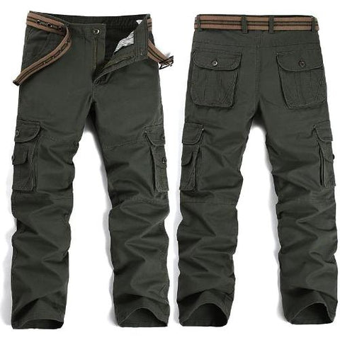 Shop-Now-Big-Pockets-Cargo-Pants-Army-Green-Kwikibuy.com-All-Men-Bottoms