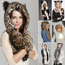 Load image into Gallery viewer, Fur Scarf Hat  - Kwikibuy Amazon Global