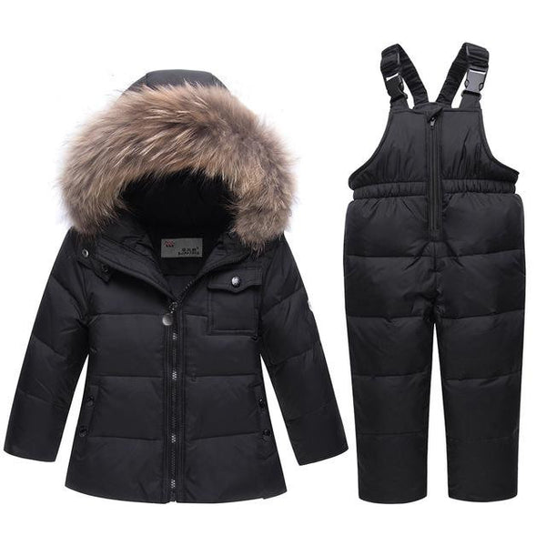 -35 Degree Down Snow-suit (Black) | Kwikibuy Amazon Global | United States | Children | Kids | Winter | Outer-wear | Pants