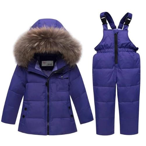 -35 Degree Down Snow-suit (Purple) | Kwikibuy Amazon Global | United States | Children | Kids | Winter | Outer-wear | Pants