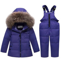 Load image into Gallery viewer, Minus 35 Degree Down Snowsuit Purple (4 Colors 5 Sizes)  - Kwikibuy Amazon Global