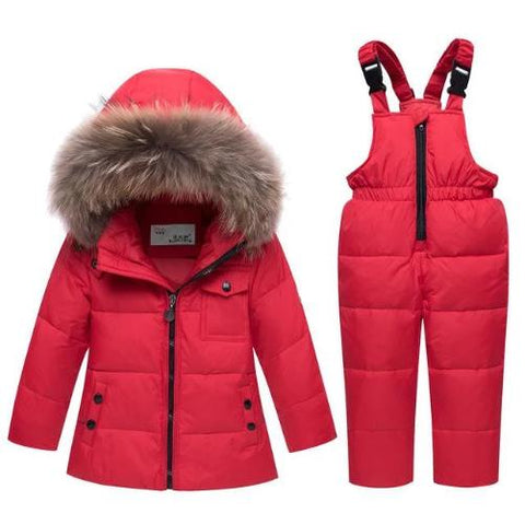 Minus-35-Degree-Down-Snowsuit-Red  - Kwikibuy Amazon Global