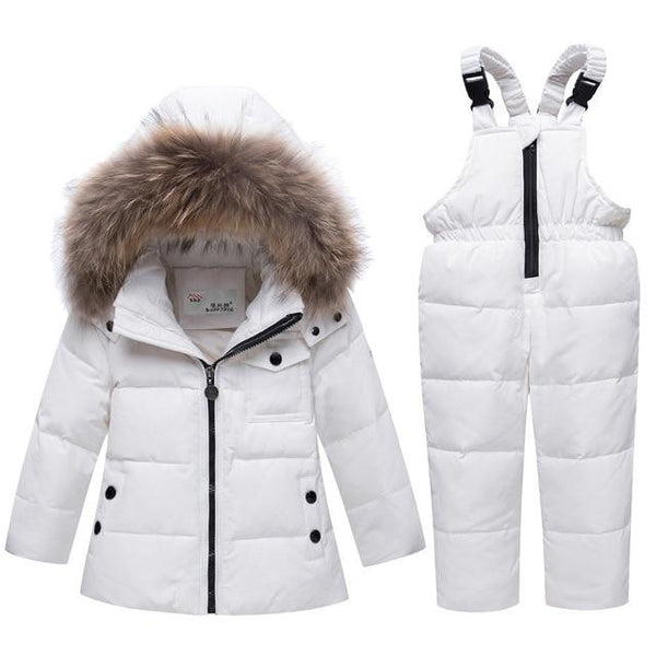 -35 Degree Down Snow-suit (White) | Kwikibuy Amazon Global | United States | Children | Kids | Winter | Outer-wear | Pants