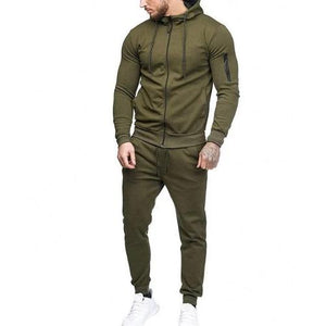 🍀  2 Piece Army Green Hoodie Set *7) Colors- 5 Sizes)  - Kwikibuy Amazon Global