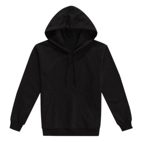 Toddler-Warm-Cotton-Pullover-Hoodie-Black  - Kwikibuy Amazon Global