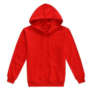 Customized-Warm-Cotton-Pullover-Hoodie-Red  - Kwikibuy Amazon Global