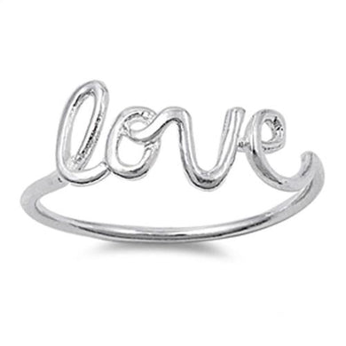 🍀 Love Ring Solid 925 Sterling Silver *7) Sizes)  - Kwikibuy Amazon Global