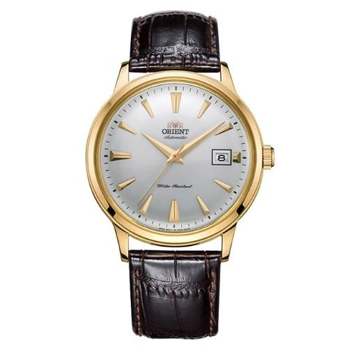 Orient  - FAC00003W0  - Leather Strap Wristwatch  - Kwikibuy Amazon Global  Brand Name: Orient Classic Analogue Automatic Movement 22 jewels F6724 Waterproof