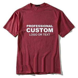 Professional-Custom-Printed-Embroidery-Logo-T-Shirt-More-Colors  - Kwikibuy Amazon Global