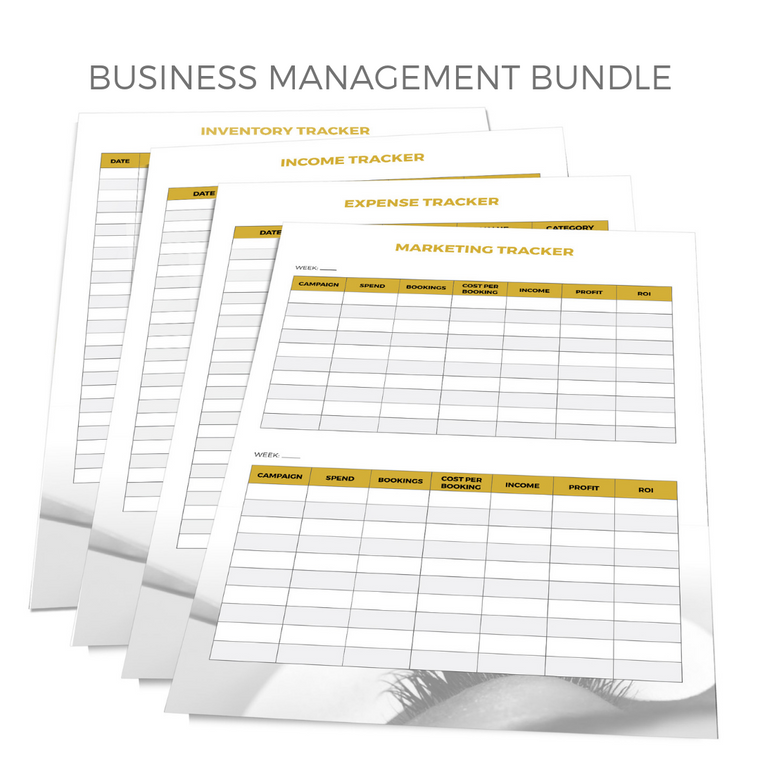 MYSTIQ Business Management Bundle - Digital Download