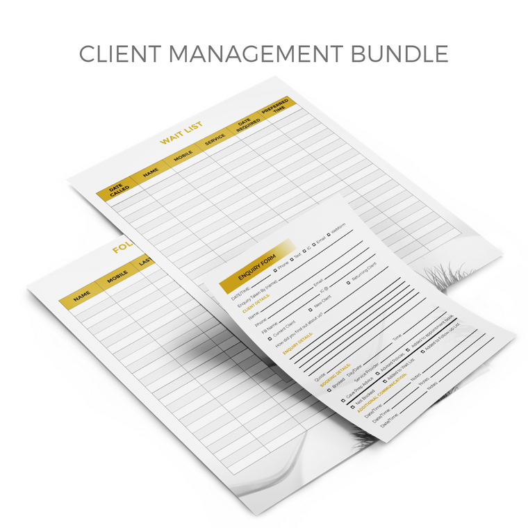MYSTIQ Client Management Bundle - Digital Download