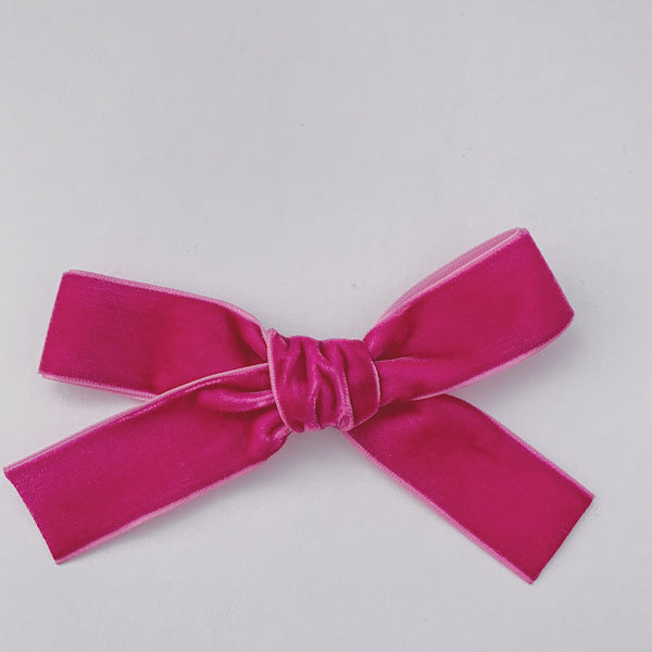 LUXE BARBIE VELVET BOW