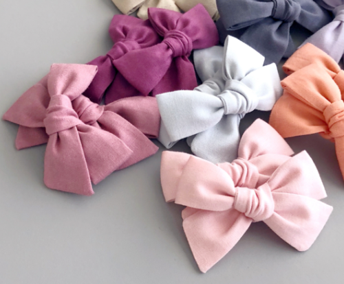 Baby Bow Club - Pigtail Set