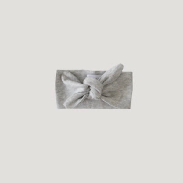 Jamie Kay - Pima Cotton Headband - Light Grey
