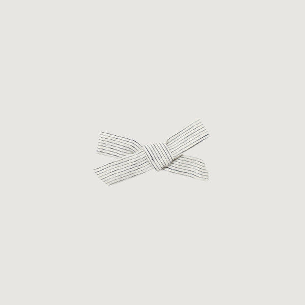 Jamie Kay - Hair Bow Stripe Linen