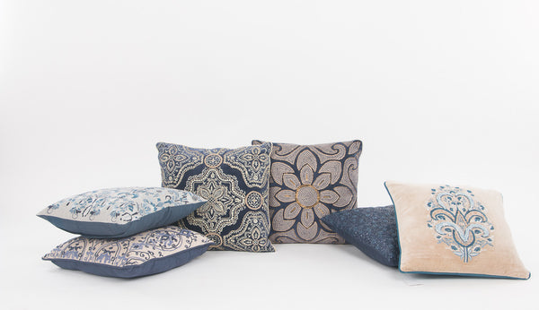 Handmade decorative throw cushions