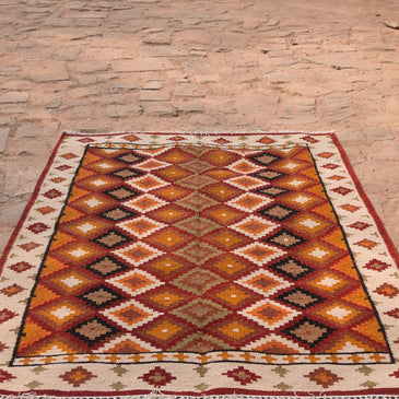 Shyla Handwoven Indian Kilim Rug
