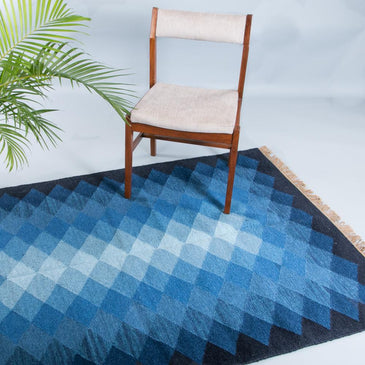 Adrian Handwoven Indian Kilim Rug