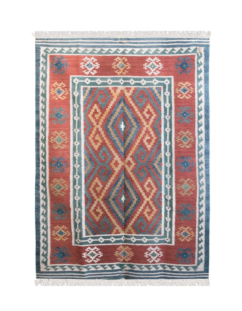 Adora Handwoven Indian Kilim Rug