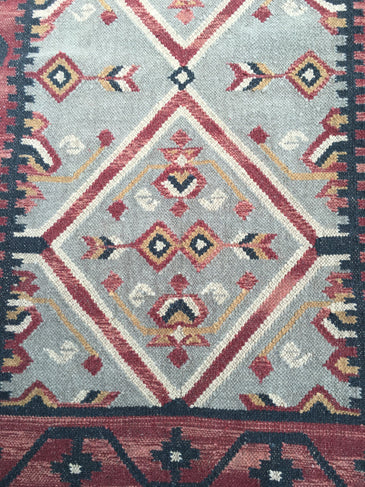 Desiree Handwoven Indian Kilim Rug