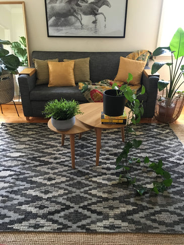 Eka Handwoven Indian Kilim Rug