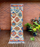 Nyra Handwoven Indian Kilim Runner Rug
