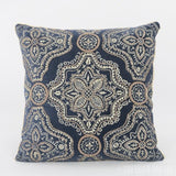 Indra Velvet Handmade Applique Embroidered Cushion Cover