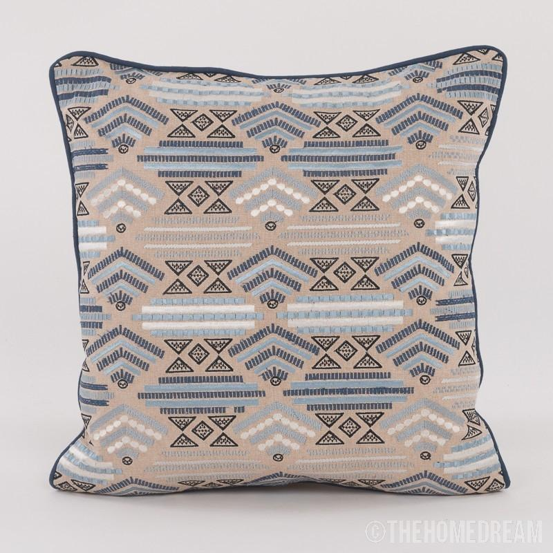Saveria Handmade Embroidered Cushion Cover