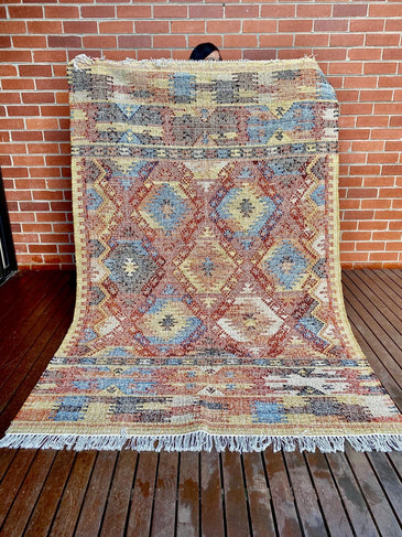 Varali Handwoven Indian Kilim Rug