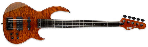 ESP LTD Bunny Brunel Sig 5 String (Burnt Orange) Bass Guitars ESP