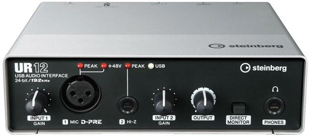 Steinberg UR12 Interface Audio Interfaces Steinberg