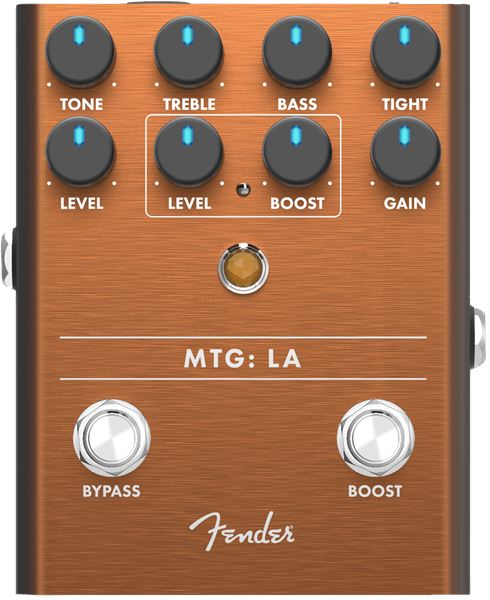 Fender MTG: LA Tube Distortion Guitar Effects Fender