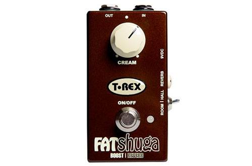 T-Rex Fat Shuga Boost & Reverb Pedal Guitar Effects T-Rex