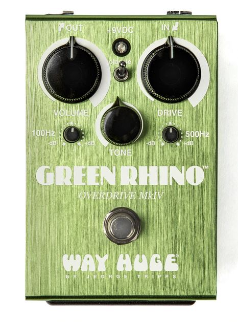 Way Huge Green Rhino MKIV Overdrive Pedal Guitar Effects Way Huge