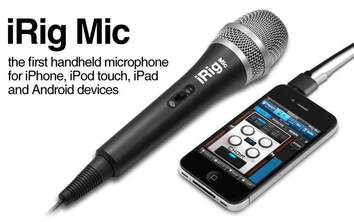 IK Multimedia iRig Mic Audio Interfaces IK Multimedia