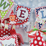 Easy Elf Holiday Printables for the Kids